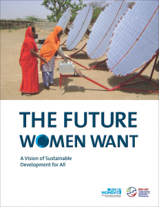 The Future Women Want: A Vision of Sustainable Development for All