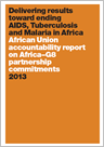 Delivering results toward ending AIDS, Tuberculosis and Malaria in Africa - African Union accountability report on Africa–G8 partnership commitments - 2013