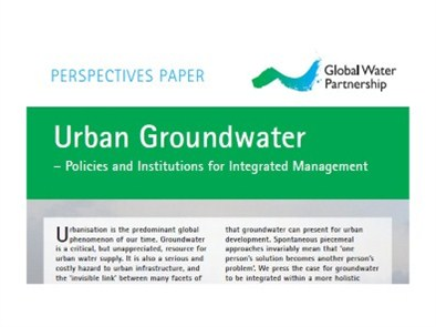 New Perspectives Paper on Urban Groundwater